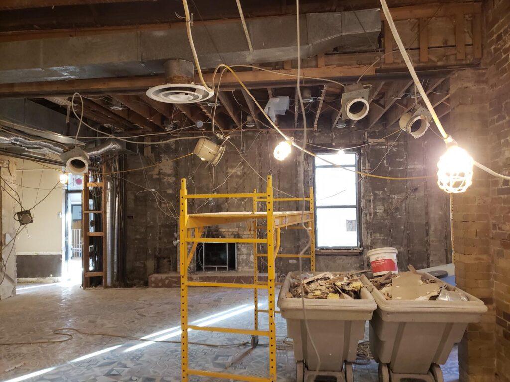 360 Demolition & Environmental Services Ryerson Oakham Cafe (14)