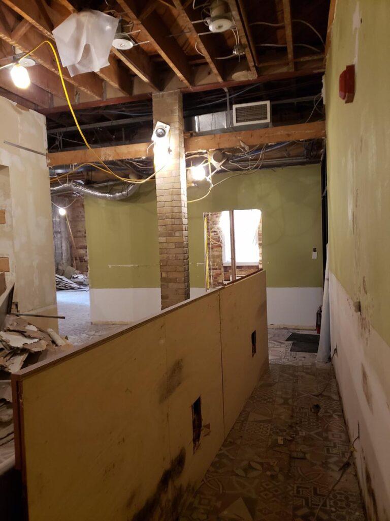360 Demolition & Environmental Services Ryerson Oakham Cafe (4)