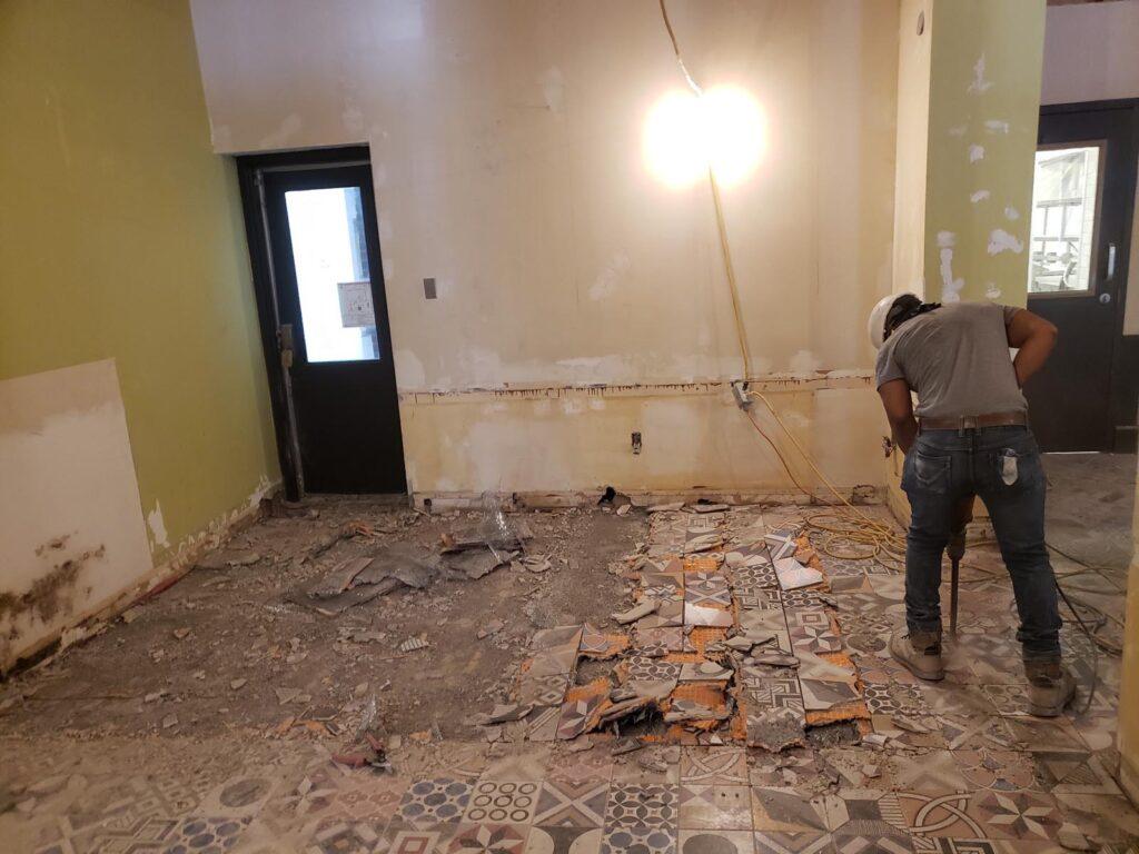 360 Demolition & Environmental Services Ryerson Oakham Cafe (6)