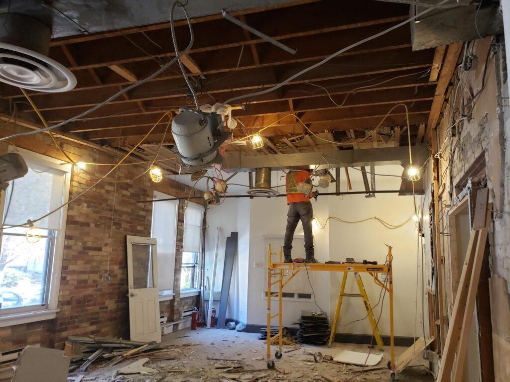 360 Demolition & Environmental Services Ryerson Oakham Cafe (7)